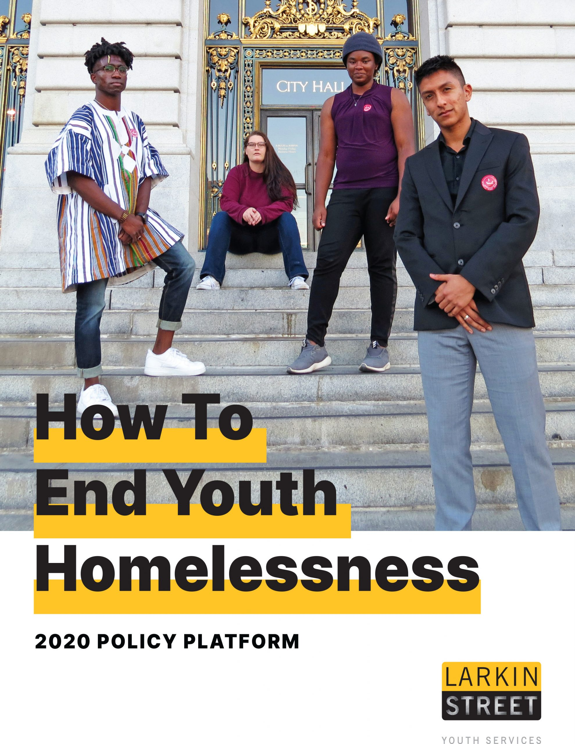 ow to End Youth Homelessness - 2020 Policy Platform