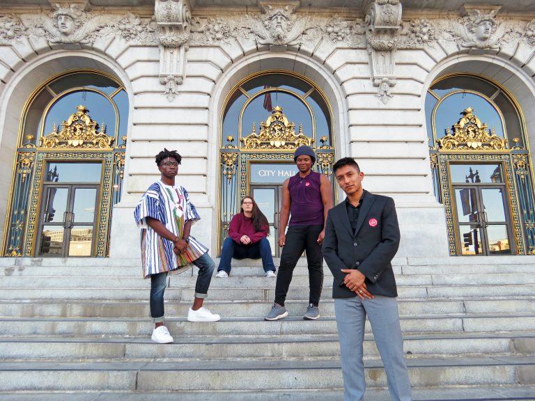 Larkin Street Youth Advisory Board at City Hall